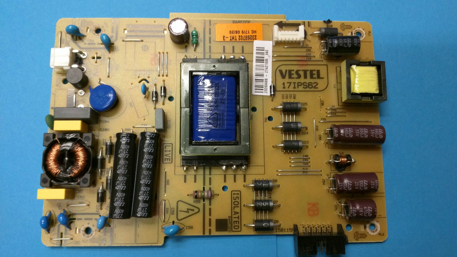 POWER 17IPS62 17IPS62 Vestel Power Supply Board