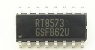 RT8573 SO-16 High Voltage Boost/SEPIC Controller