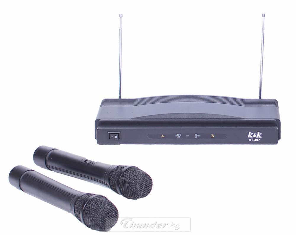 MICROPHONE WIRELESS AT-306 MICROFONE wireless at-306