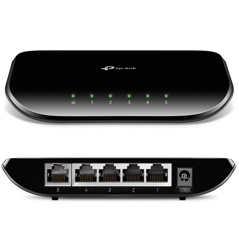 SWITCH TP-LINK TL-SF1008D  SWITCH TP-LINK TL-SF1008D  8-Port 10/100Mbps Desktop Switch