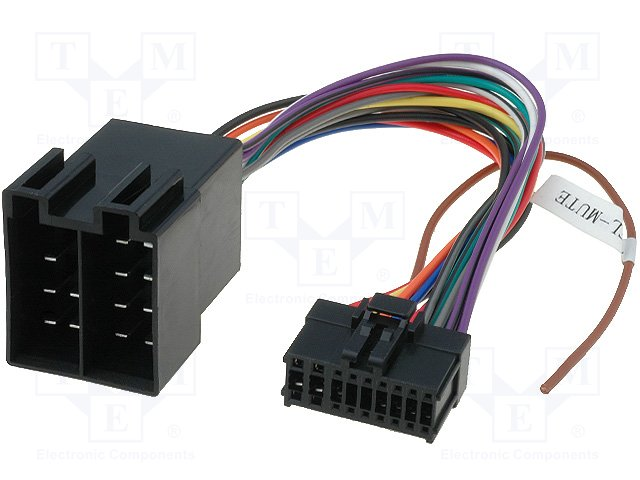 CABLE ISO PIONEER 18PIN ZRS-194 CABLE ISO PIONEER ZRS-194 18 PIN