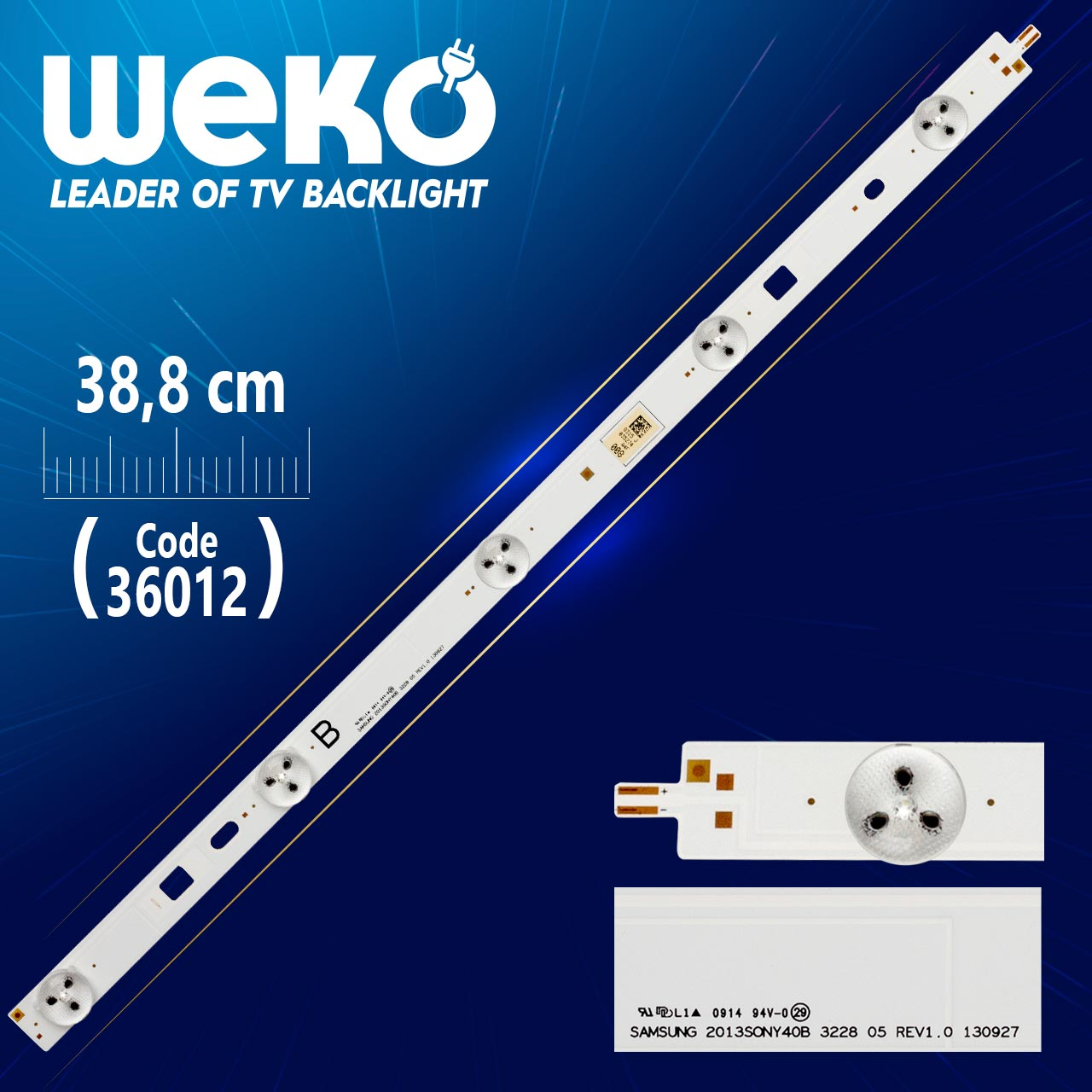 LED STRIP SONY 2013 40B3228 05 REV1.0A B-TYPE LED STRIP SONY  2013SONY40A 3228  05 REV1.0A B-TYPE