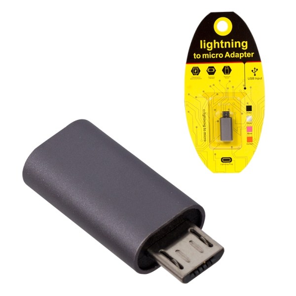 PREHOD IPHONE TO MICRO USB USB IPHONE / micro ПРЕХОДН�К