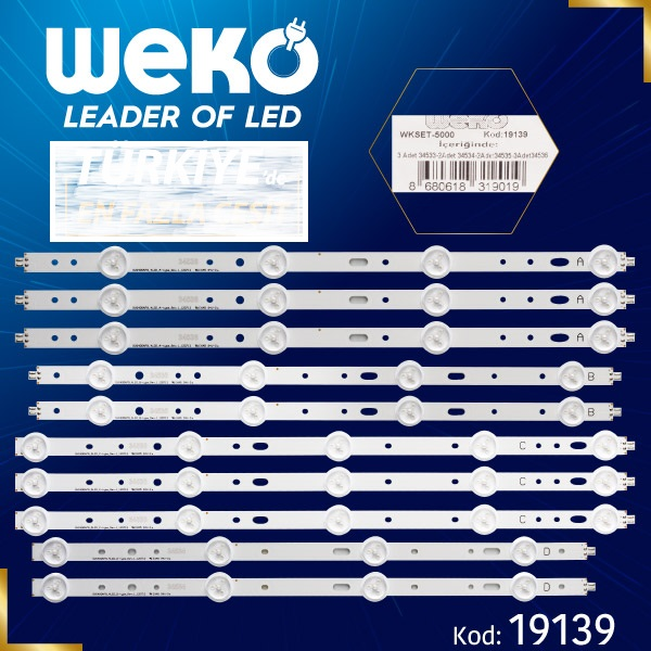 LED STRIP SAMSUNG/VESTEL 40