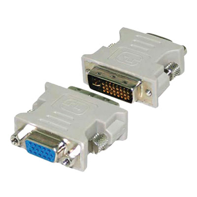 PR.DVI-M TO VGA-F 24+5 PR.DVI-M to VGA-F Connector 24+5 Type15-pin D-SUB Female and DVI-I Male