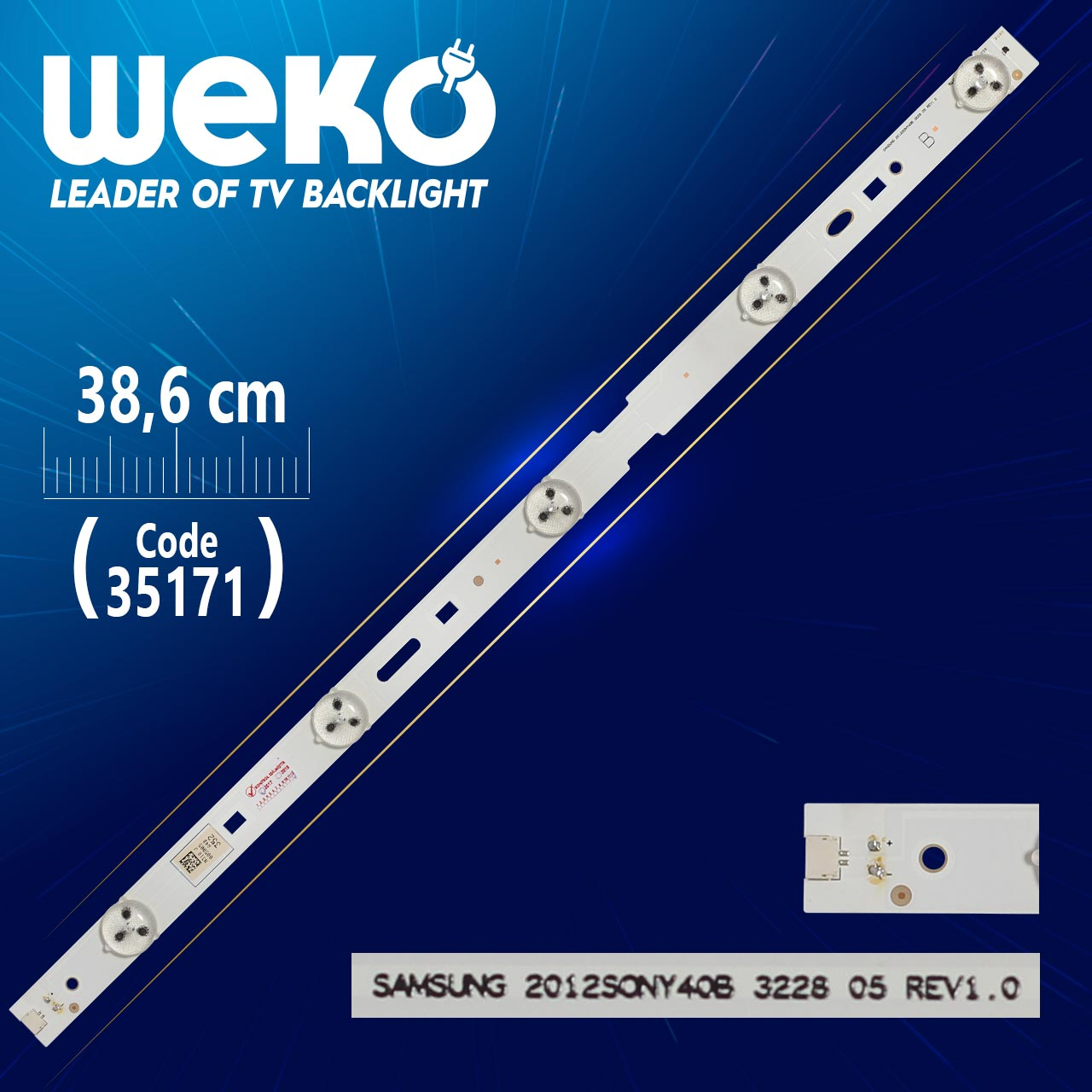 LED STRIP SAMSUNG 40