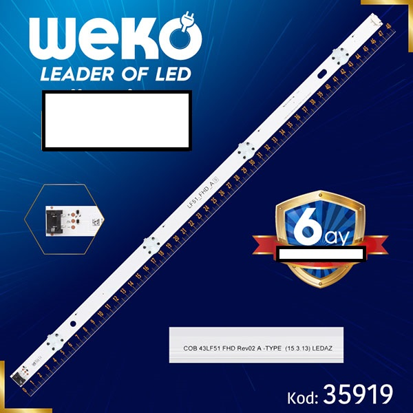 LED STRIP LG 43