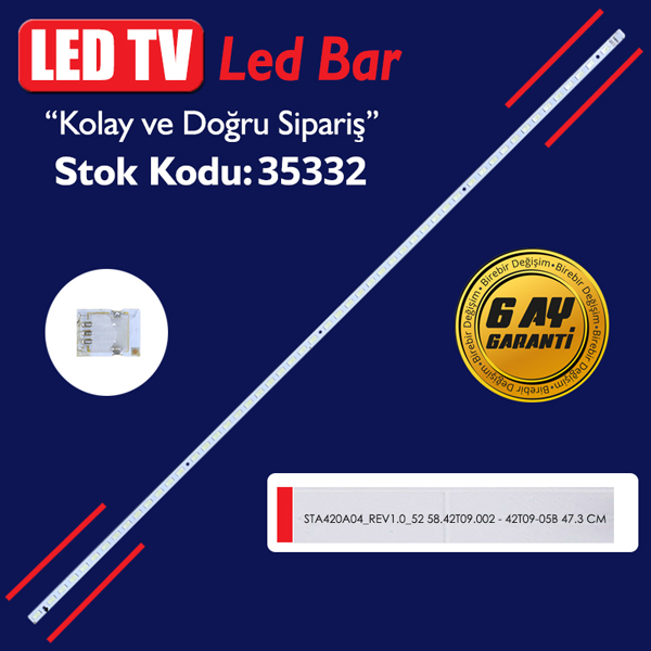 LED STRIP ELED  STA420A04_REV1.0_52  47.3 CM LED STRIP ELED  STA420A04_REV1.0_52