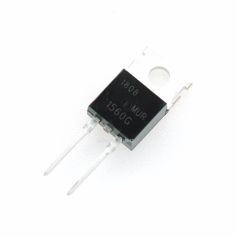 MUR1560G TO-220 MUR1560G TO-220  Diod 600V 15A (Tc=150') <60nS